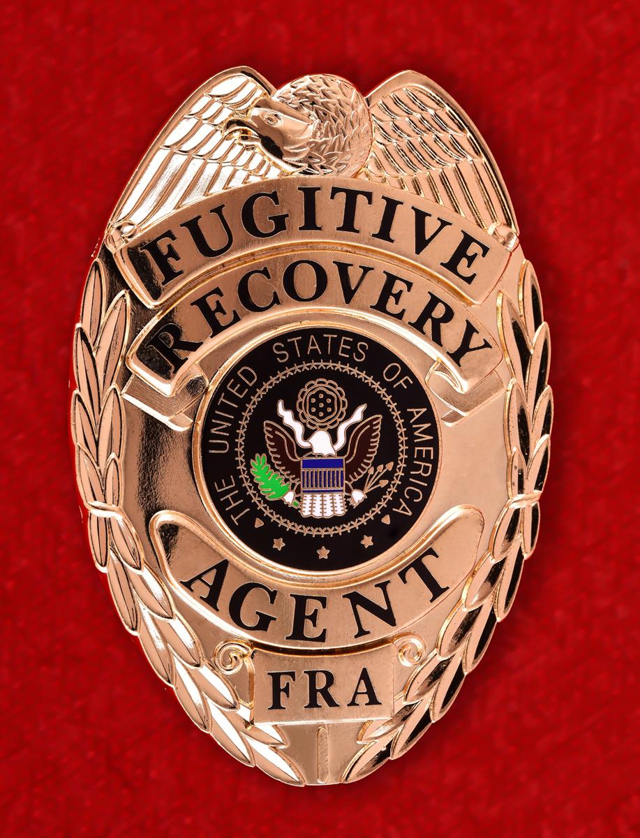 Служебный жетон Агента по розыску беглых преступников