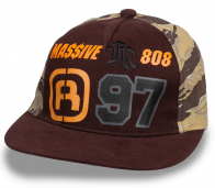 Снепбек - бейсболка MASSIVE 808 ®