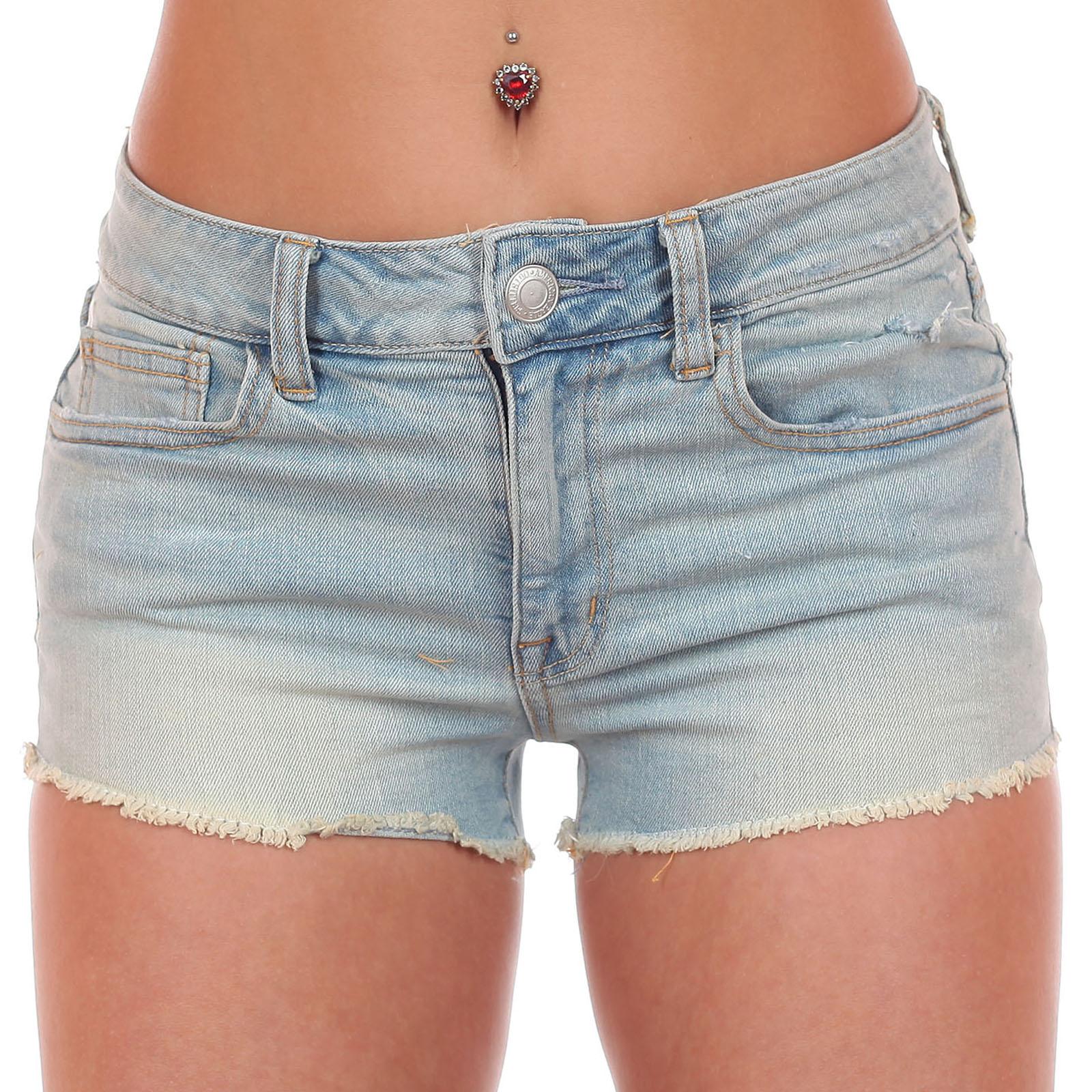 Сногсшибательные джинсовые шортики