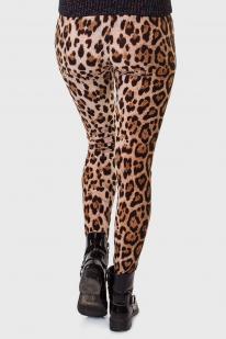 Гррр, Детка! Соблазнительные лосины LOBO с леопардовой имитацией.
