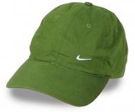 ОРИГИНАЛ! Брендовая бейсболка со спортивным логотипом. Головной убор насыщенного оливкового цвета, который автоматически переходит в категорию любимых