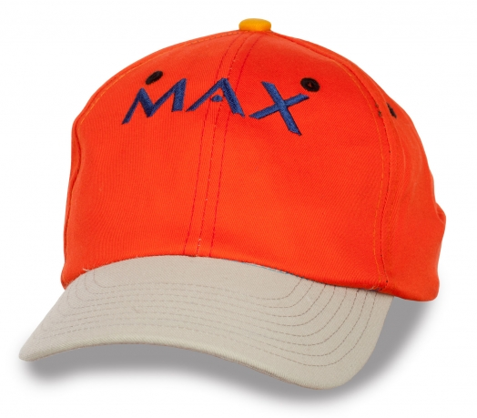 Сочная бейсболка Max.