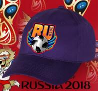 Сочная футбольная бейсболка RU 2018