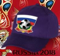 Сочная футбольная кепка Russia