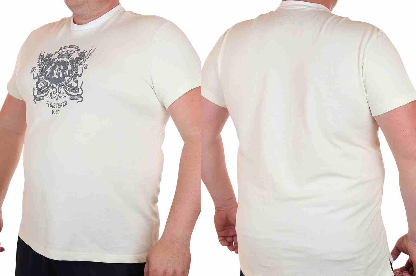 Дизайнерская футболка от Ralph Lauren (США)-двойной ракурс