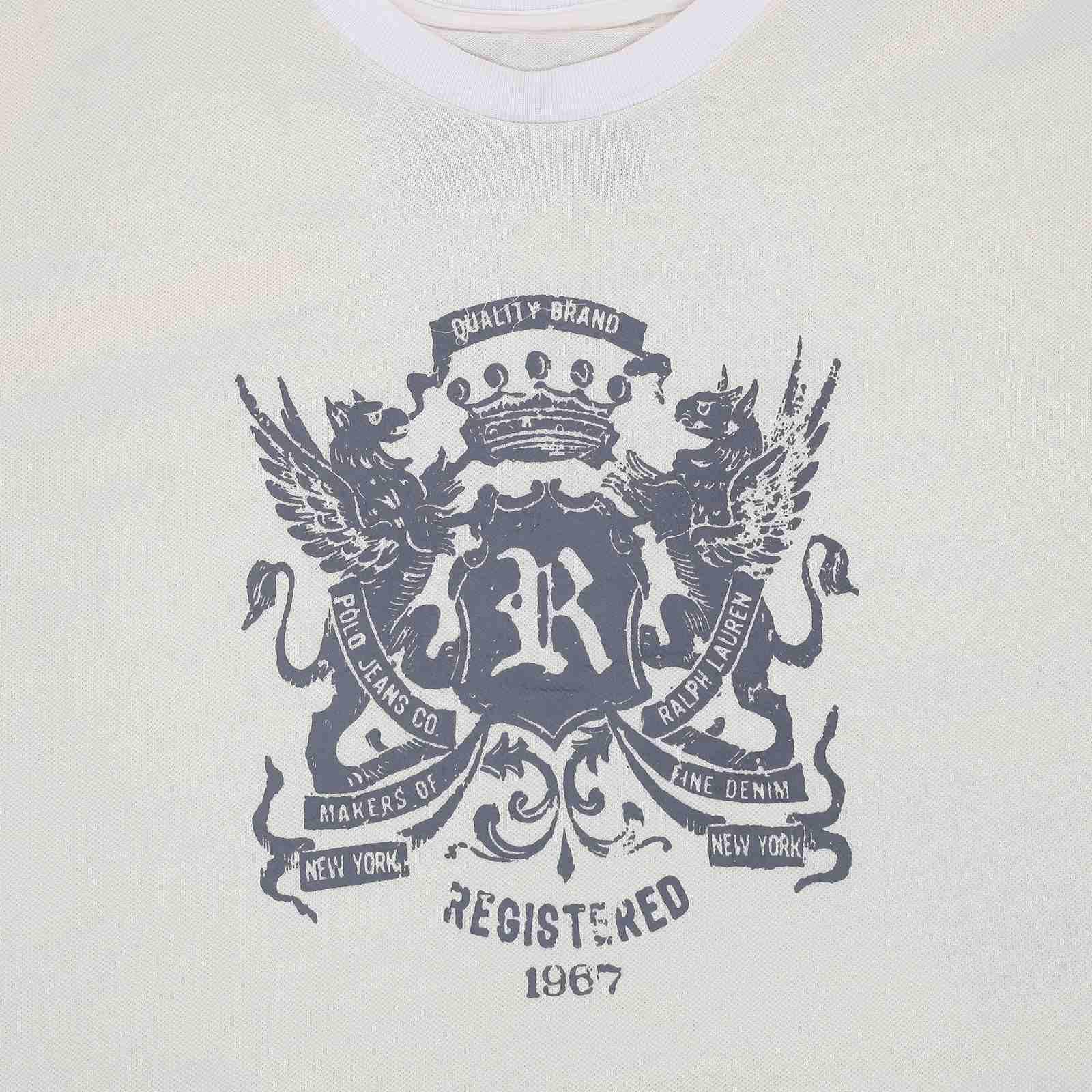 Дизайнерская футболка от Ralph Lauren (США)-принт