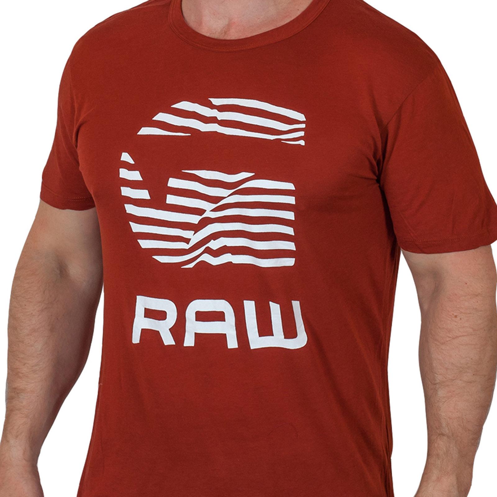 Солидная мужская футболка G-Star Raw® Radcort N526