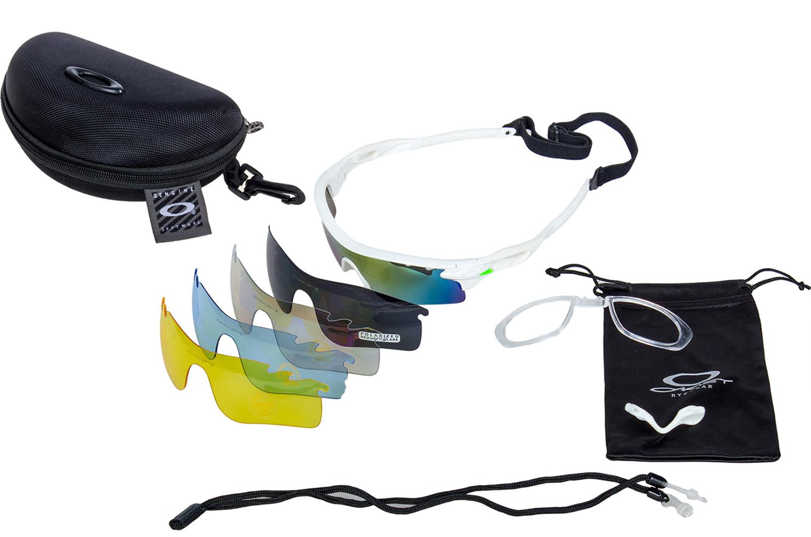 Солнцезащитные очки с 5 сменными линзами