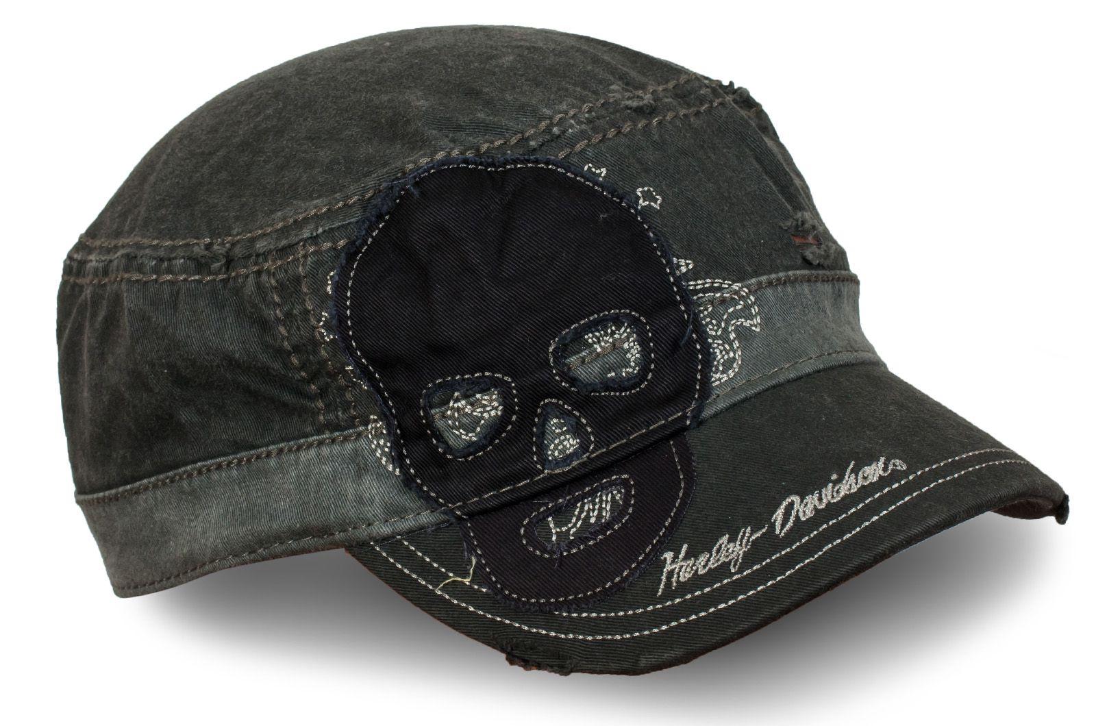 Состаренная кепка Harley-Davidson