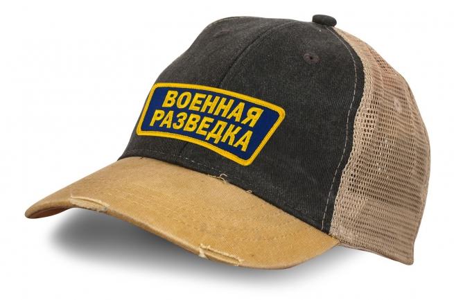 Состаренная кепка Военная разведка.