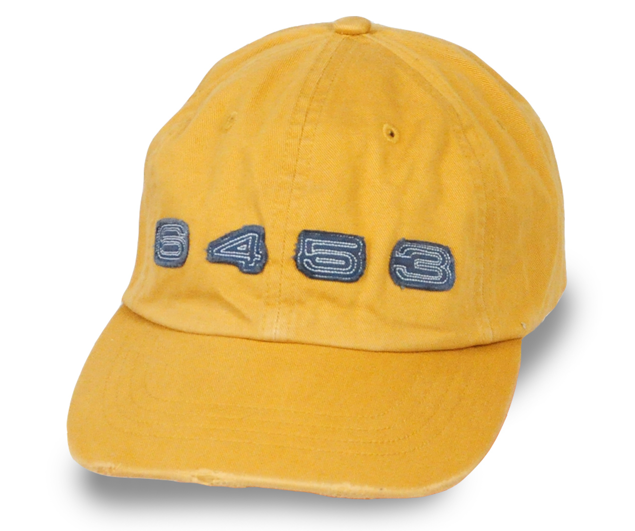 Состаренная желтая бейсболка - купить недорого