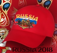 Совершенная бейсболка РОССИЯ,