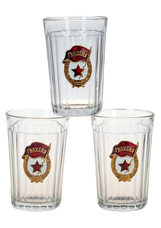 """Советские гранёные стаканы """"Гвардия"""" с доставкой"""