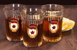 """Заказать советские гранёные стаканы """"Гвардия"""""""