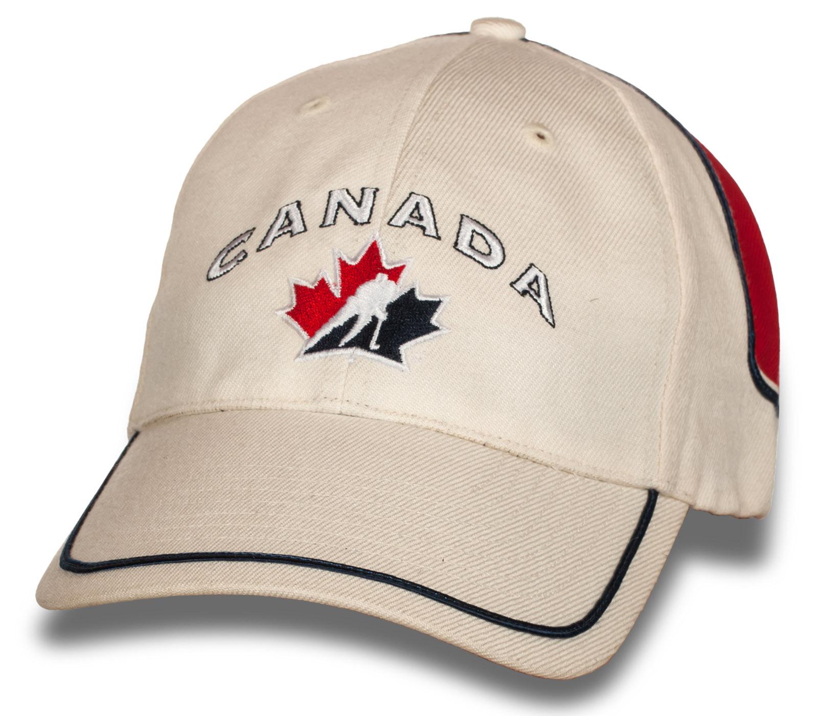 Современная бейсболка CANADA