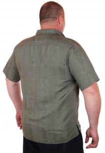 Современная городская рубашка для мужчин от Caribbean Joe (США)-сзади