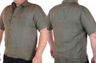 Современная городская рубашка для мужчин от Caribbean Joe (США)-двойной ракурс