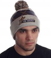 Современная молодежная шапка фанатам зимнего спорта