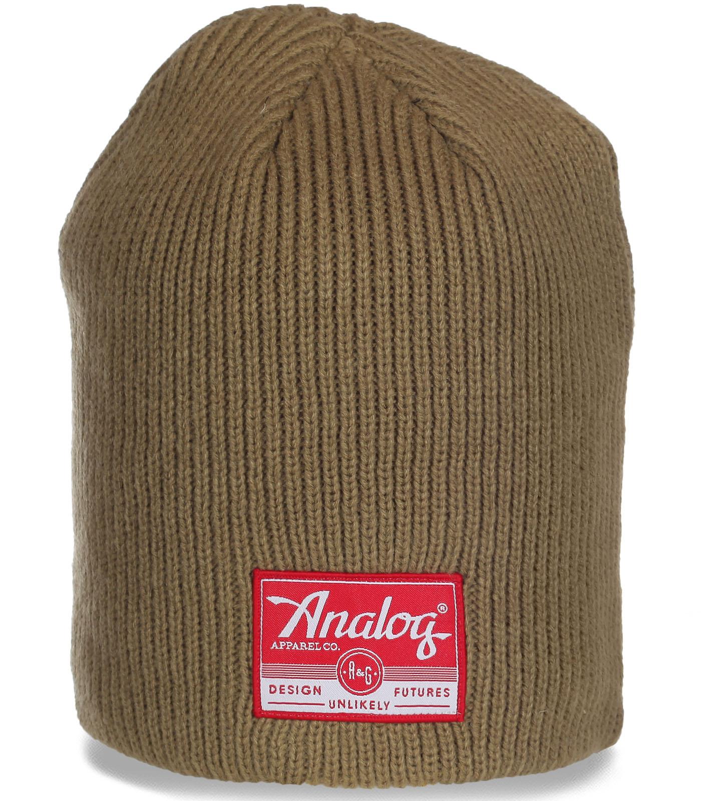 Современная шапка AnaLog для очаровательных девушек. Практичная модель на все случаи жизни