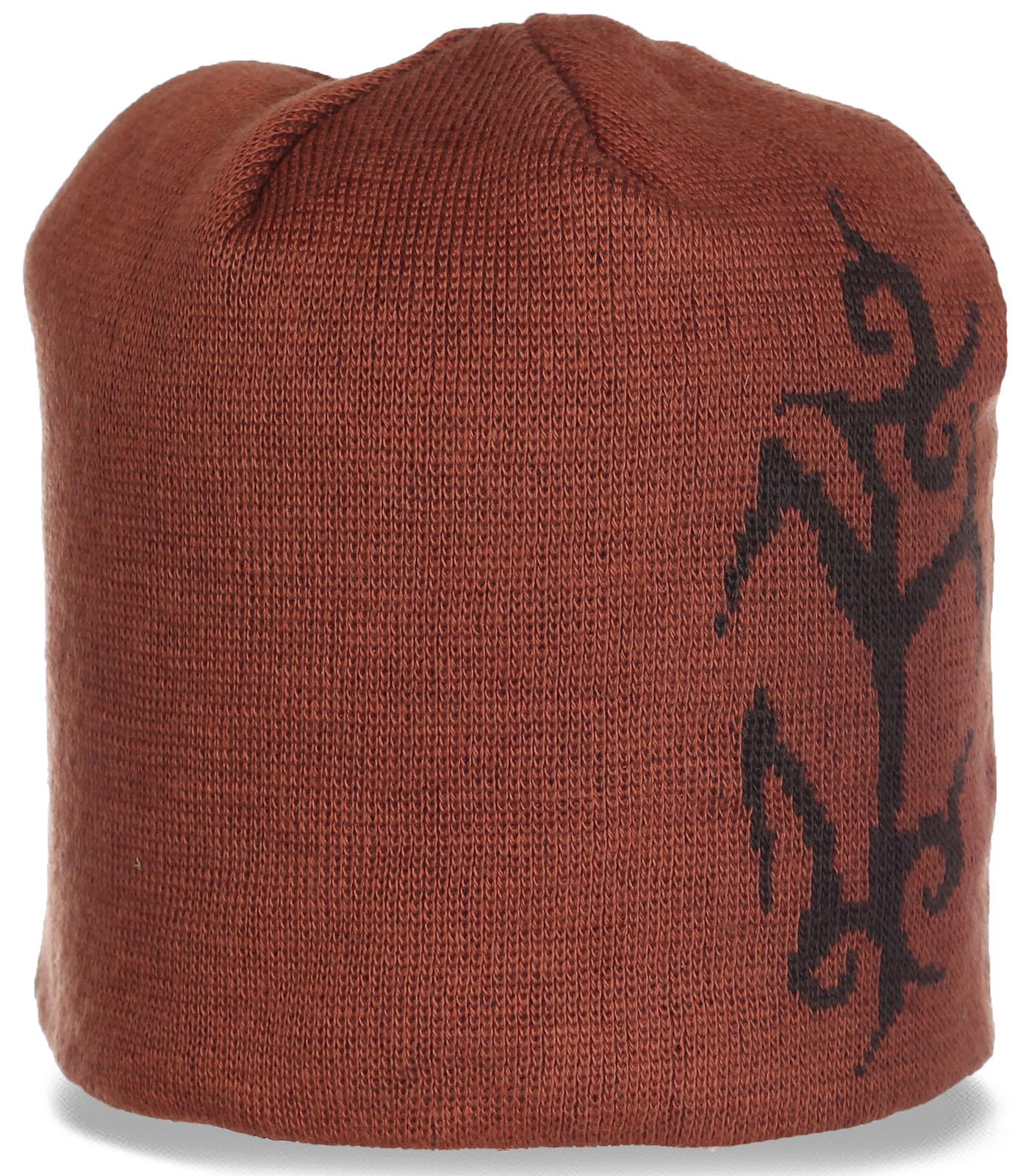 Современная женская шапка на каждый день. Удобная модель, в которой уютно и тепло