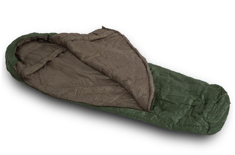 Купить в Москве недорогие армейские спальные мешки зеленого цвета