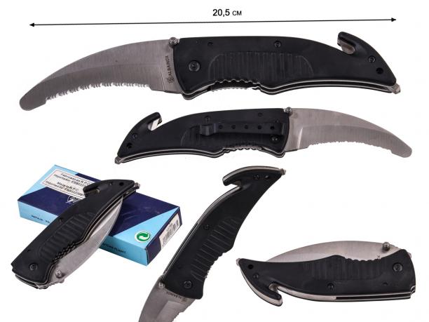 Спасательный нож с серрейторной заточкой Martinez Albainox 10759 (Испания)