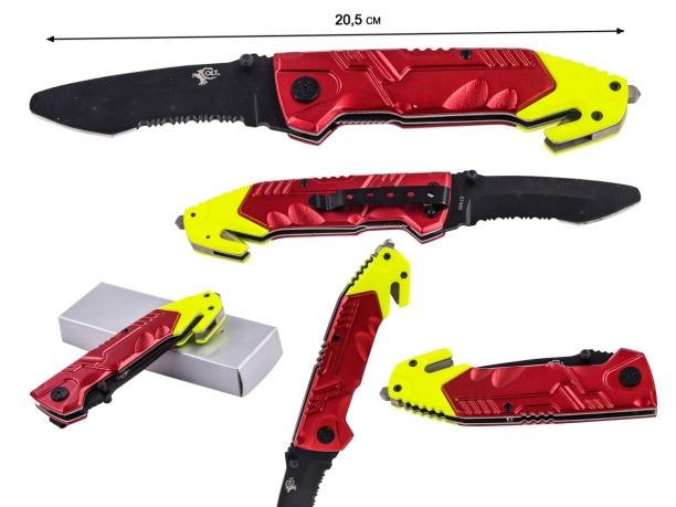 Спасательный нож со стеклобоем Colt Rescue Linerlock CT492 (США)