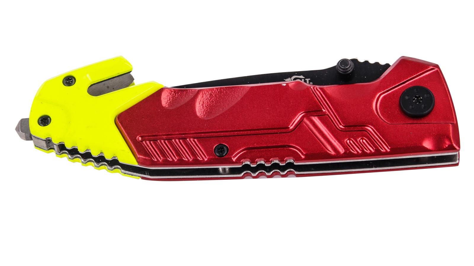 Заказать спасательный нож со стеклобоем Colt Rescue Linerlock CT492 (США)