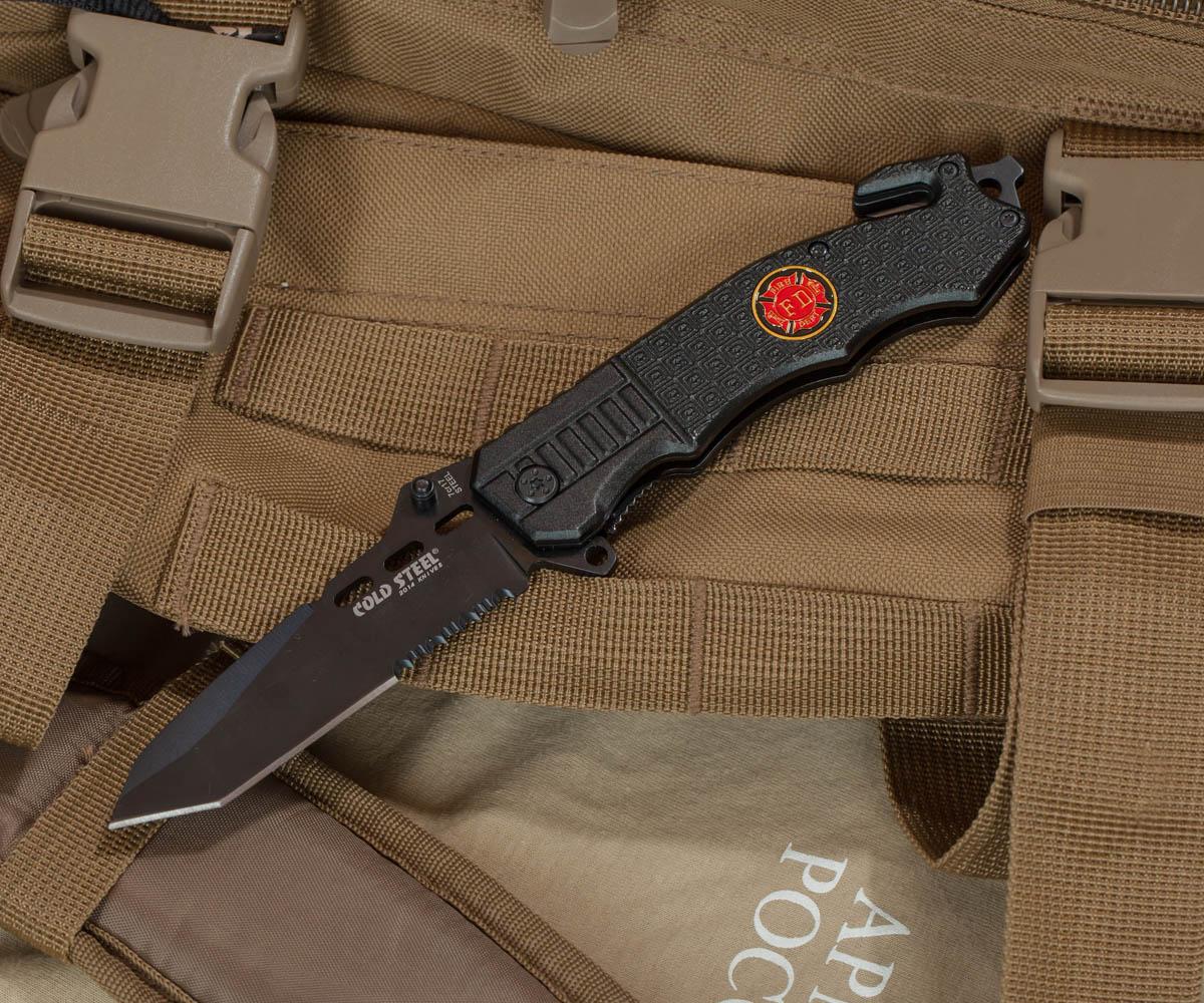 Спасательный складной нож Cold Steel 229 FD