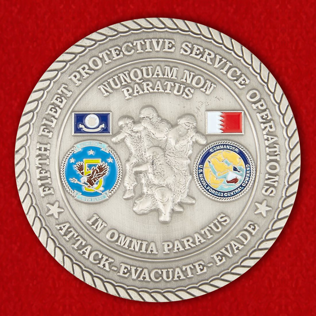 Special Agent of the US Navy Challenge Coin