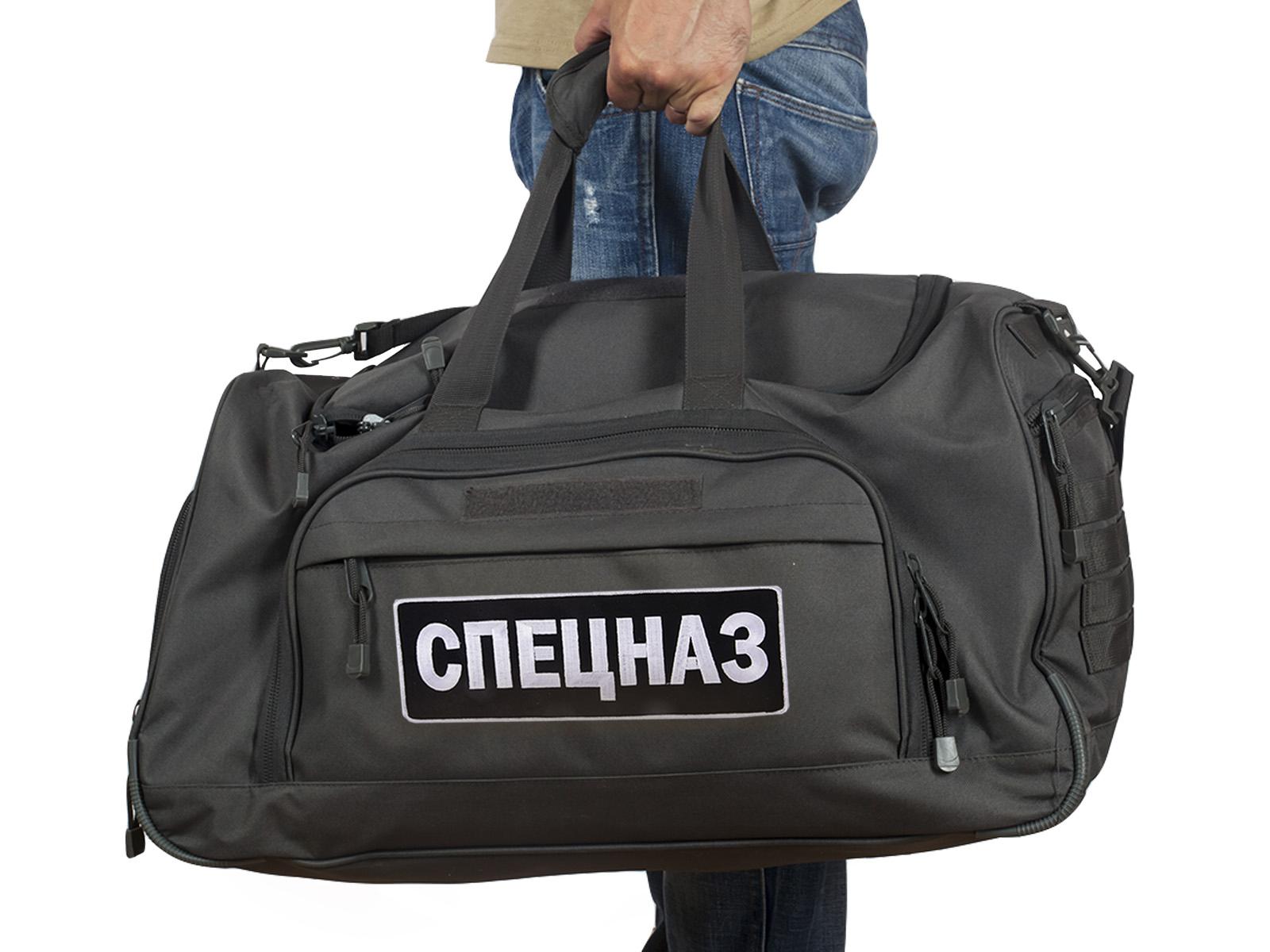 Мужская дорожная сумка СПЕЦНАЗ в стиле милитари