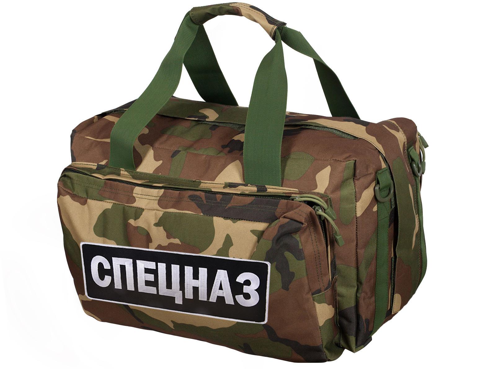 Спецназовская тактическая сумка-рюкзак