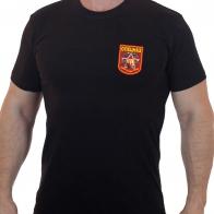 Черная спецназовская футболка Росгвардии