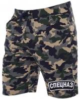 Спецназовские шорты в камуфляжном стиле