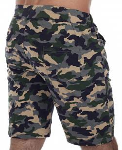 Спецназовские шорты Blue Sky Wheat в камуфляжном стиле