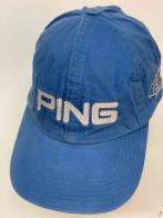 Спортивная бейсболка PING голубого цвета