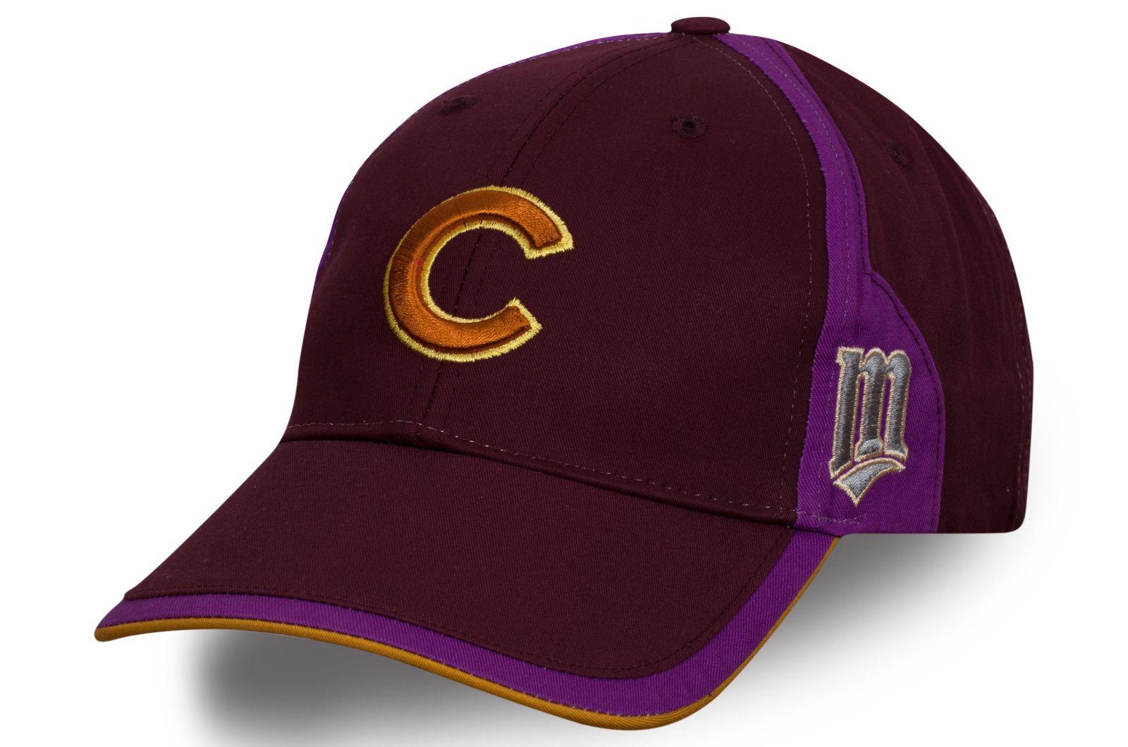 Спортивная бордовая кепка Cubs