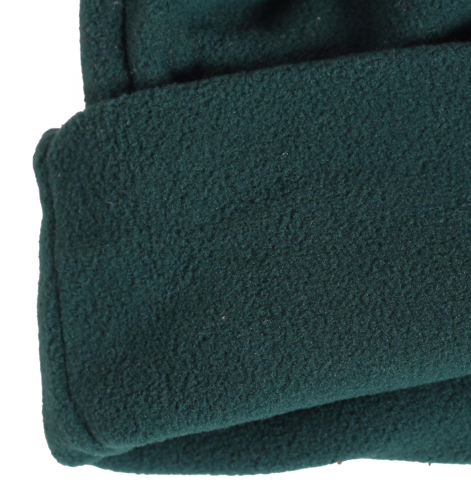 Заказать спортивную флисовую мужскую шапку с отворотом утепленную флисом по лояльной цене