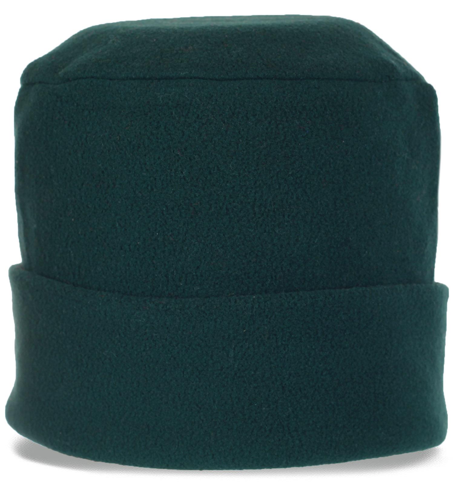 Спортивная флисовая мужская шапка с отворотом утепленная флисом. Сделает Вашу жизнь теплее и комфортнее. Спешите купить!