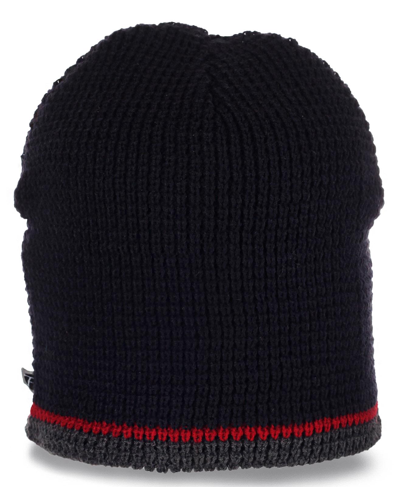 Спортивная флисовая шапочка для мужчин