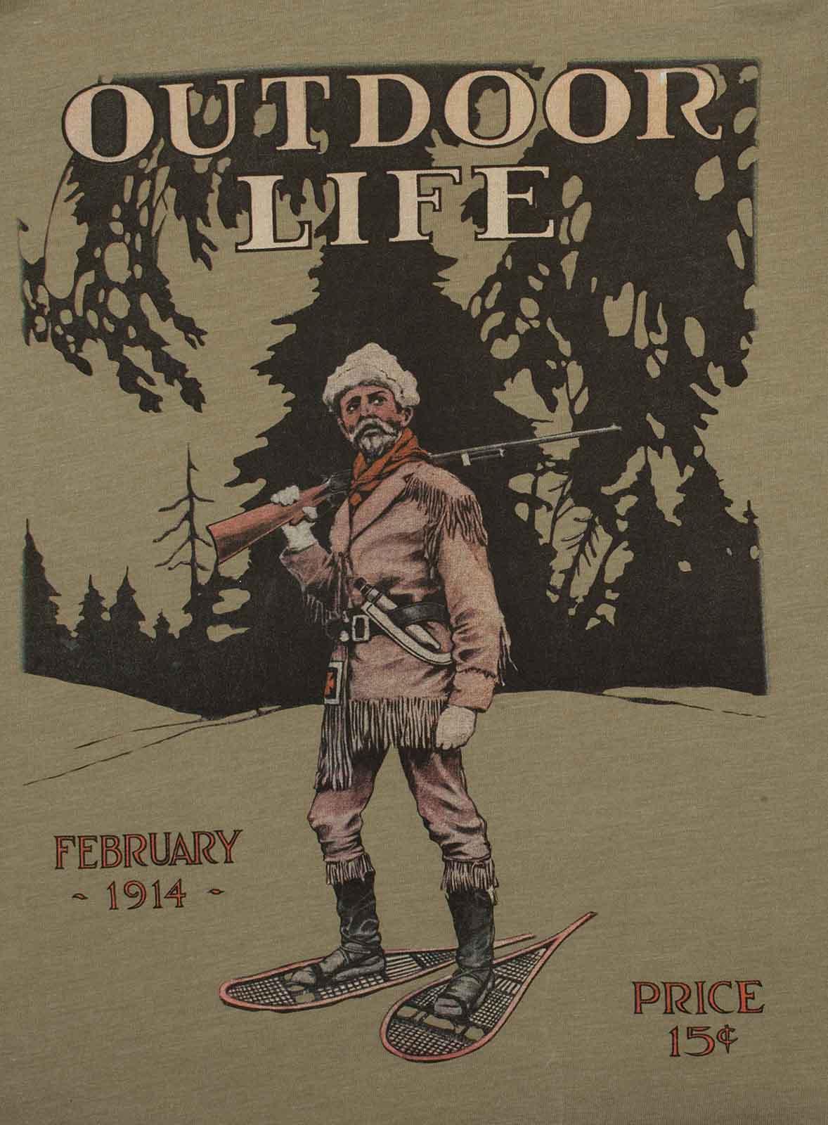 Спортивная мужская футболка Guide Life с принтом.