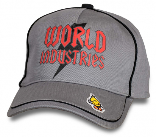 Спортивная кепка от World Industries.