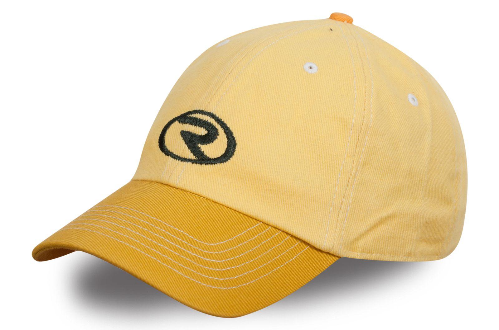 Спортивная желтая бейсболка - купить по выгодной цене