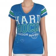 Спортивная женская футболка Hard Rock® London