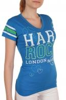 Спортивная женская футболка Hard Rock® London - вид спереди