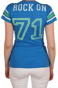 Спортивная женская футболка Hard Rock® London - вид сзади