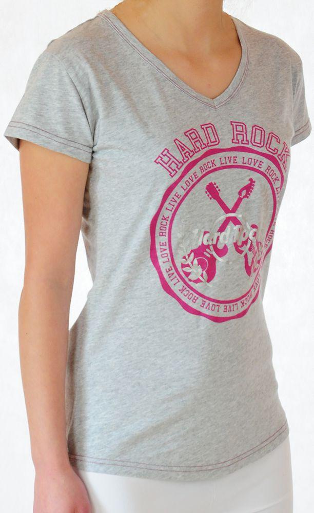 Спортивная женская футболка от Hard Rock® - вид сбоку