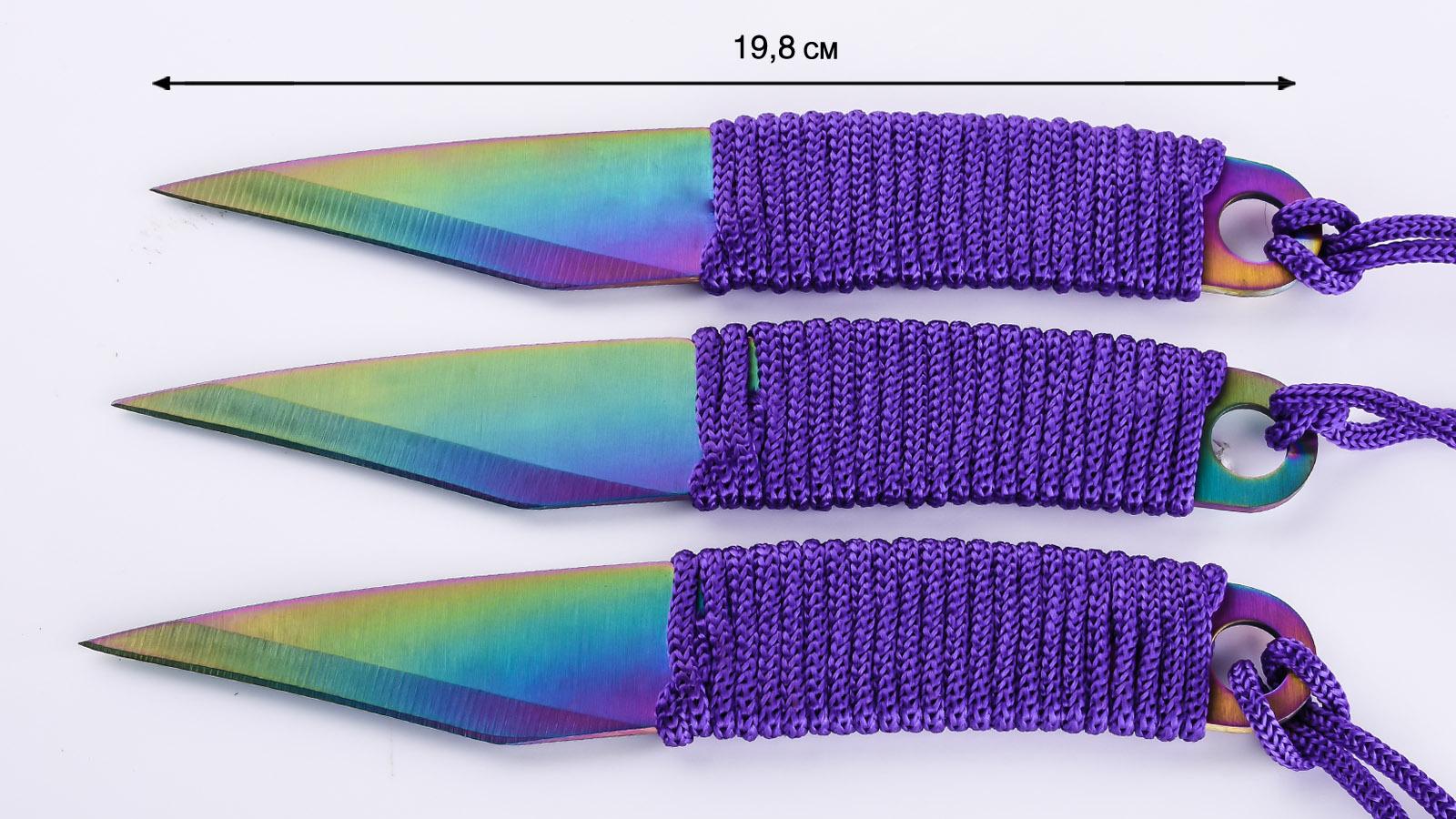 Набор ножей с титановым покрытием по выгодной цене