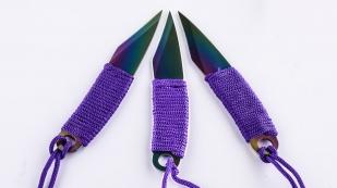 Заказать набор ножей с титановым покрытием