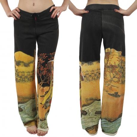 Широкие спортивные штаны для девушек от бренда Paparazzi